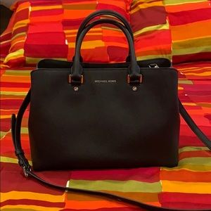 Michael Kors Savannah satchel purse